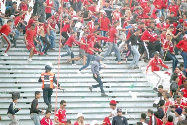 De la prison ferme pour les hooligans du derby casablancais
