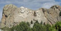 Barack Obama se  verrait bien sculpté sur le Mont Rushmore