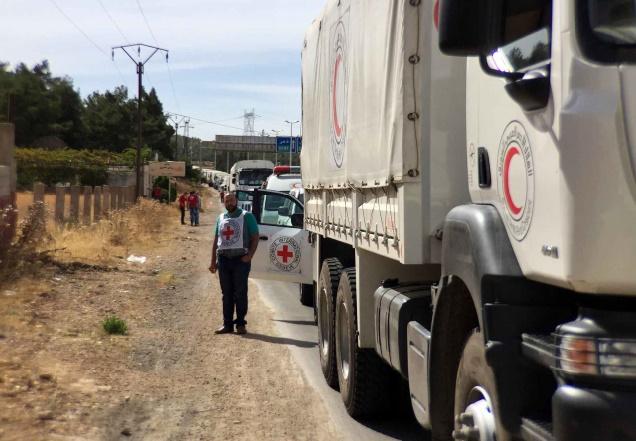 Début de l'opération d'aide à la ville assiégée de Madaya