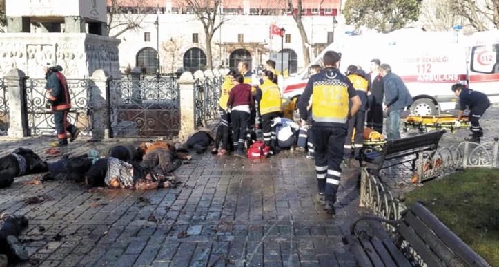 La barbarie frappe en plein Istanbul