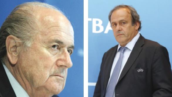 La Chambre d'instruction juge les suspensions de Blatter et Platini insuffisantes