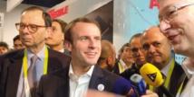 A Las Vegas, Macron défend la politique de Bruxelles face aux géants du Net