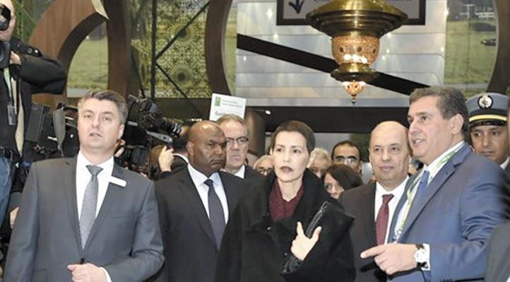 La lecture du message Royal a été donnée par S.A.R la Princesse Lalla Meryem.