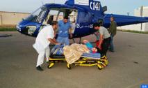 Evacuation héliportée de deux femmes vers les CHU Mohammed VI d'Oujda et Ibn Sina de Rabat