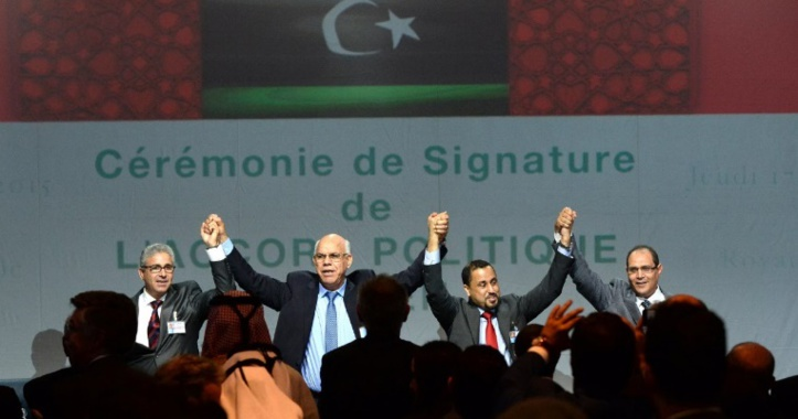 Formation du gouvernement  libyen d'union prévu par l'accord parrainé par l'ONU