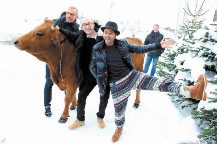 «La Vache», un film «réconciliateur et drôle» pour Jamel Debbouze