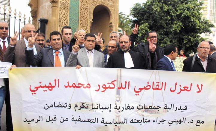 La défense d'El Hayni dénonce le parti pris de Ramid