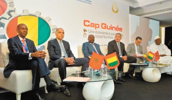 Signature de conventions entre les secteurs privés maroco-guinéens