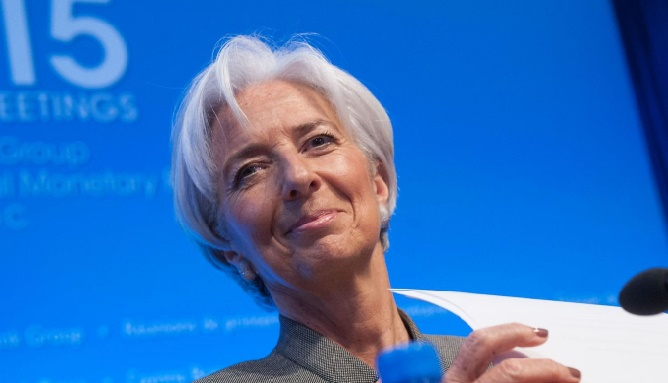 Christine Lagarde candidate à sa succession au FMI