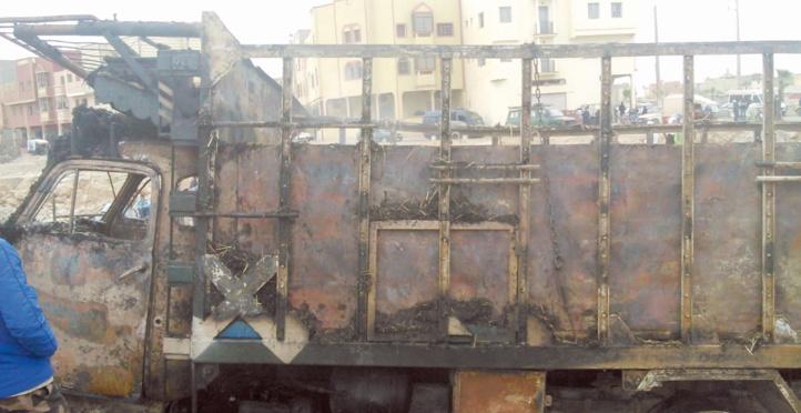 D'énormes dégâts dans un incendie au souk de Oued Zem