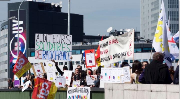 Journée de grèves tous azimuts en France