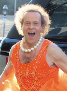 Scandales de stars à l'aéroport : Richard Simmons, mars 2004
