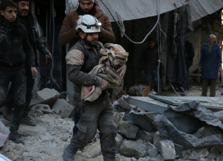44 civils tués en Syrie par des raids russes