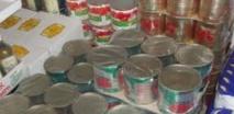 Saisie de produits alimentaires de contrebande en provenance de l'Algérie