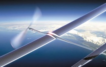Google teste un réseau 5G relayé par des drones solaires