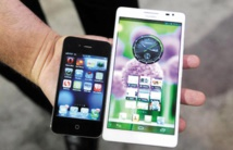 Samsung et Apple talonnés par la concurrence chinoise