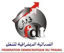 Participons en masse à la grève nationale : La FDT dit non à la remise en cause des acquis et des droits des classes laborieuses