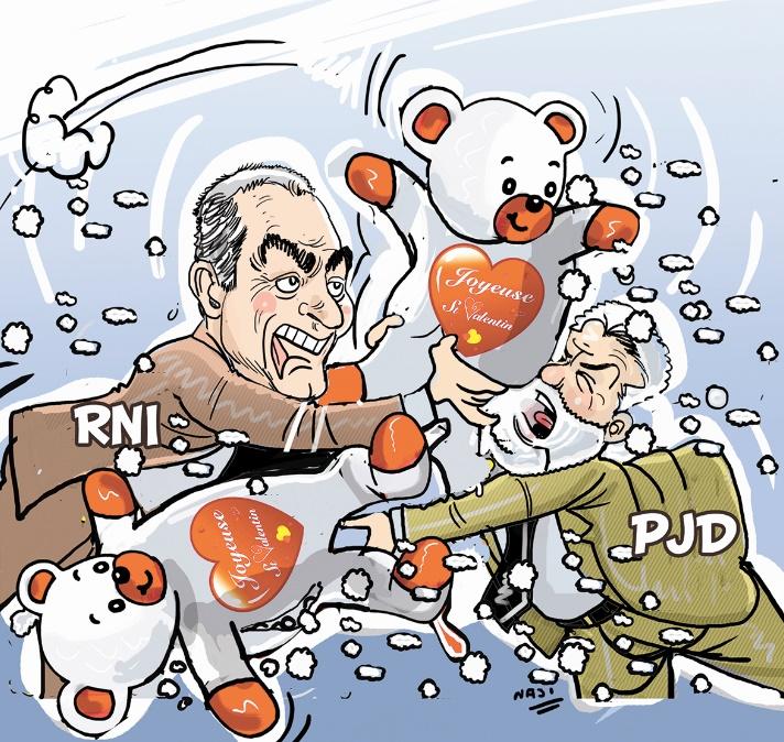 Drôle de Saint-Valentin  PJD-RNI : Le énième clash