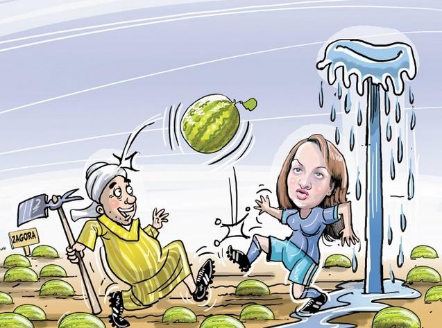 Main basse sur les ressources hydriques