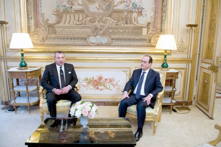 Visite de travail et d'amitié de S.M le Roi en France