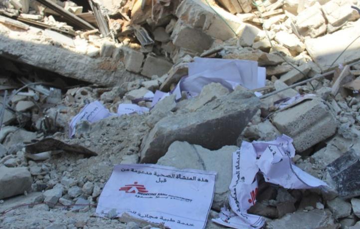 Les centres médicaux soutenus par MSF  en Syrie lourdement touchés par le conflit