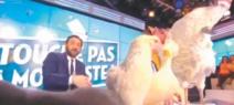 Pour la promotion du film «La Vache», Jamel Debbouze invite des animaux sur un plateau de télévision