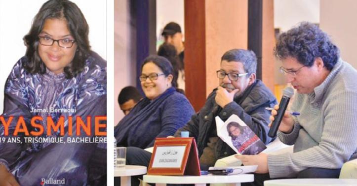 Yasmine et Jamal Berraoui aux côtés du critique littéraire Jean Zaganiaris.