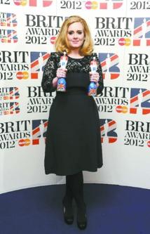 Adele triomphe aux Brit Awards