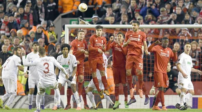 Le sans faute des clubs anglais en Europa League