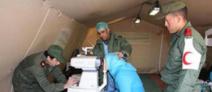 Un hôpital militaire de campagne installé à Ouaouizeght