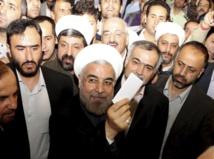 Les alliés du président Rohani en voie  de remporter les législatives