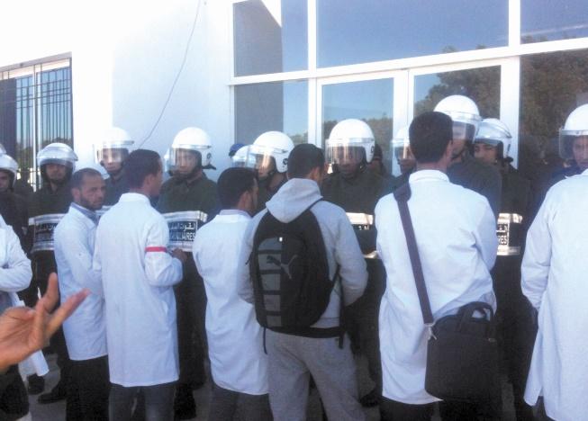 Les enseignants stagiaires d'Essaouira entament un sit-in ouvert et une grève de la faim
