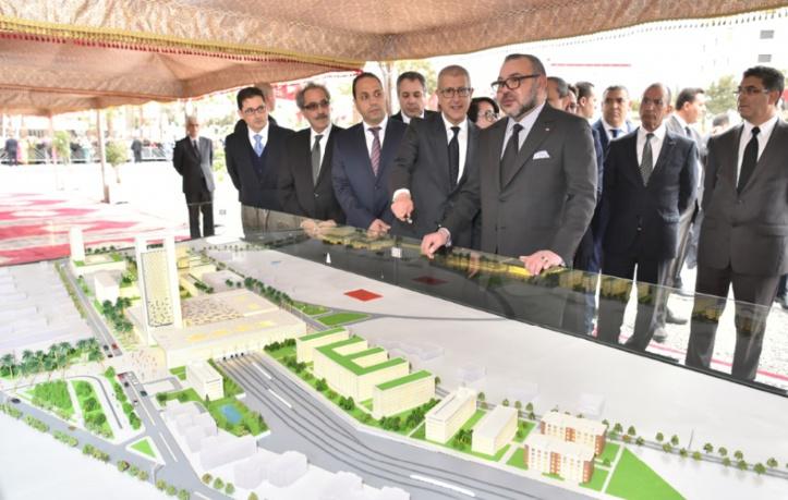 S.M le Roi lance la construction des nouvelles gares ferroviaires de Rabat-Ville et Rabat-Agdal