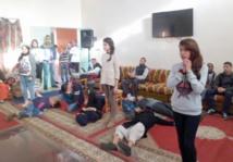 Ambiance festive à la maison de retraite d'Aïn Chock