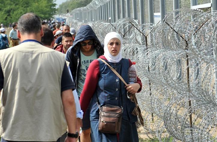 700 migrants retenus en Macédoine après avoir forcé la frontière