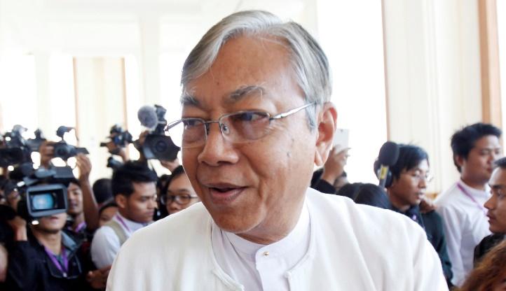 Htin Kyaw, premier président de la Birmanie élu démocratiquement