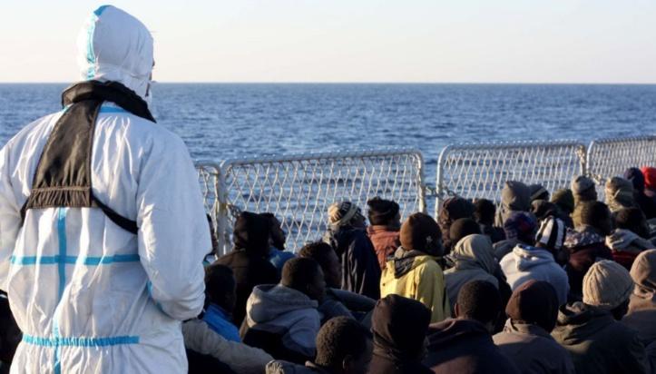Plus de 2.400 migrants au large de la Libye depuis mardi