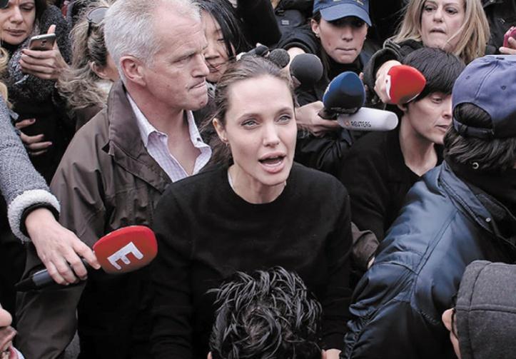 Angelina Jolie en Grèce pour la cause des migrants