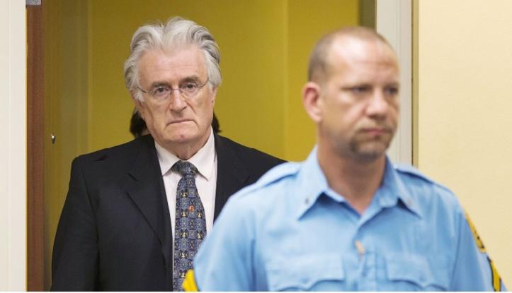 Le Serbe de Bosnie Radovan Karadzic face à son destin jeudi au TPIY