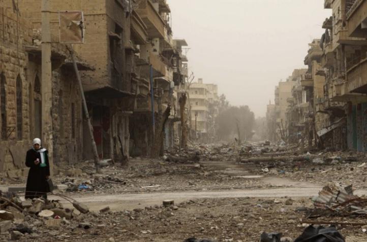 L'EI ordonne aux derniers civils de fuir Palmyre