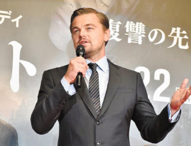 DiCaprio s'en prend aux candidats américains niant le changement climatique