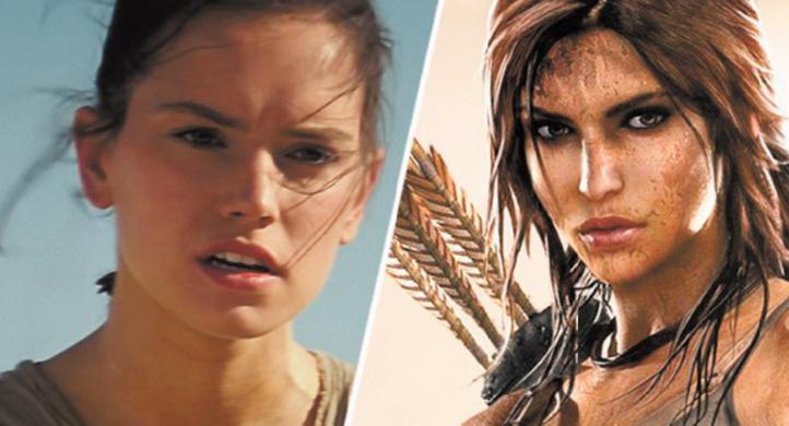 Daisy Ridley en Lara Croft