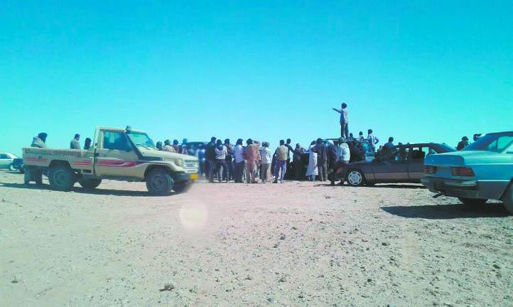 Manifestations anti-Polisario à Tindouf