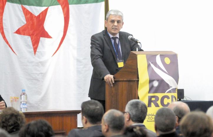 Mohcine Belabbas, président du RCD.