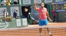 Lamine Ouahab, le numéro 1 du tennis national