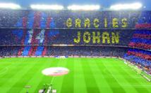 L'hommage du Camp Nou à Cruyff