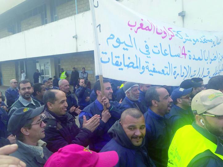 Les autorités locales tentent de casser la grève à Carnaud