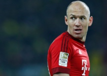 Robben absent contre le Benfica