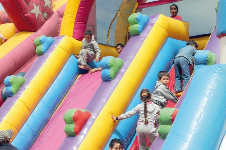 Des moments de plaisir et de divertissement pour les enfants de Doukkala