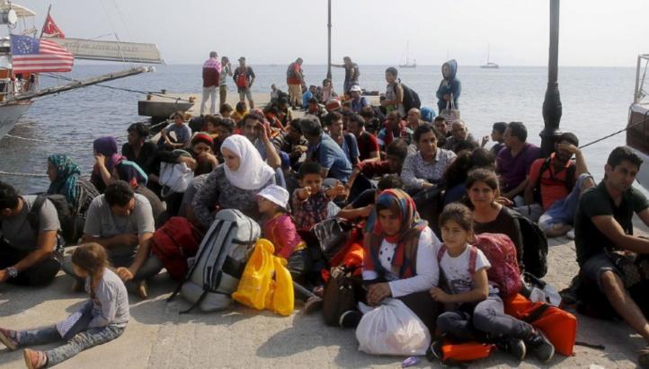 L'arrivée de migrants dans les îles grecques ralentit